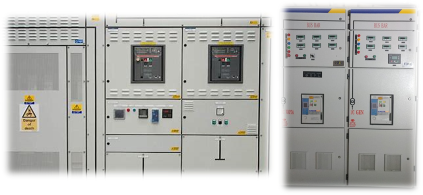 VERTICAL SWITCH CONTROL PANNEL